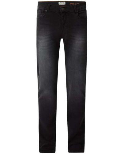Czarne mom jeans bawełniane Mcneal