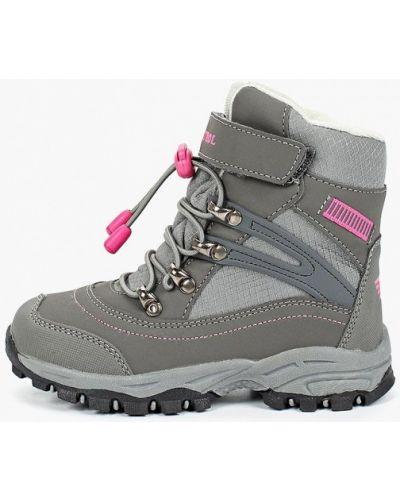 Ботинки серые Patrol