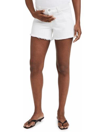 Белые джинсы с карманами для беременных Joe's Jeans