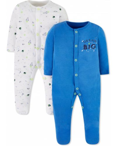 Ползунки синие белые Mothercare