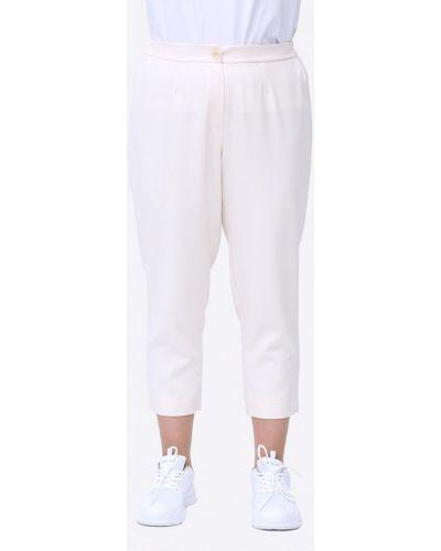 Прямые бежевые брюки Luxury Plus