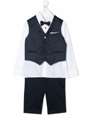 Spodni garnitur niebieski kostium Colorichiari