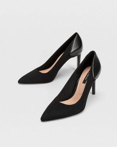 Черные туфли-лодочки Stradivarius