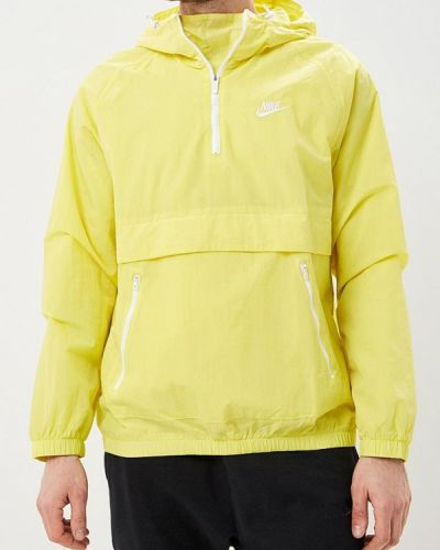 Желтая ветровка Nike