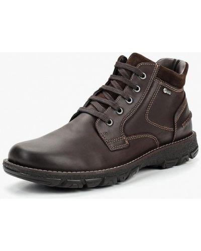Ботинки осенние кожаные коричневый Salamander