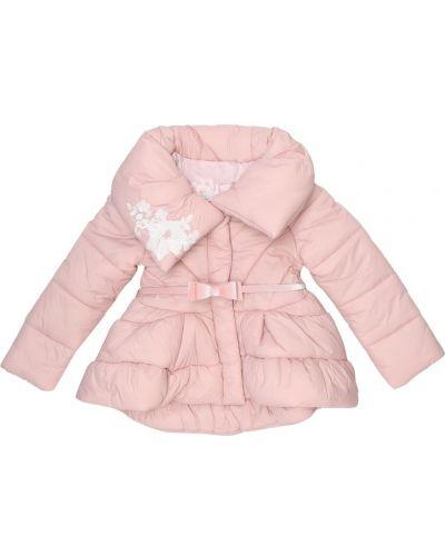 Розовое пальто Monnalisa