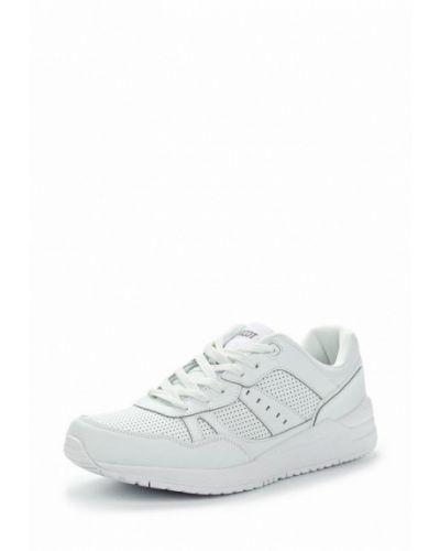 Белые кроссовки Ascot