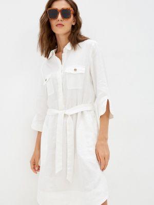 Белое платье рубашка Gerry Weber