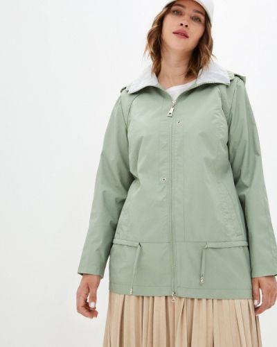 Облегченная зеленая куртка Le Monique