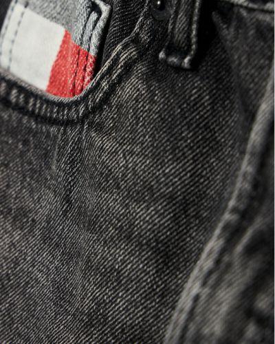 Czarne szorty jeansowe Tommy Hilfiger