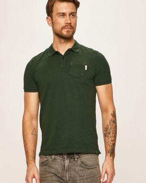 T-shirt skromny długo Scotch & Soda
