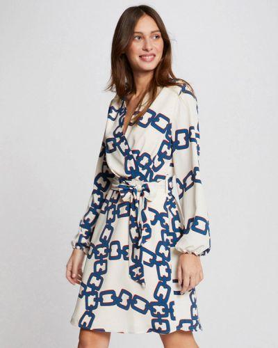 Прямое белое платье Morgan