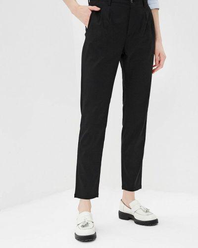Черные брюки с завышенной талией Gas