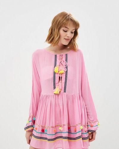 Розовое пляжное платье River Island