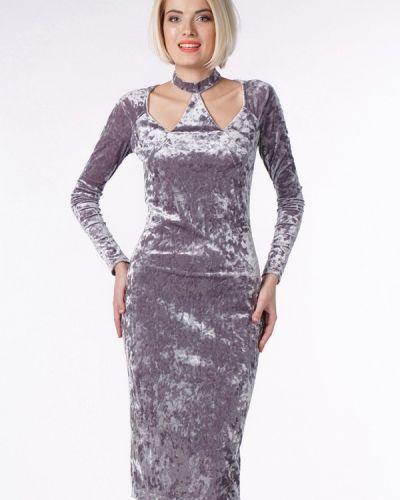 Вечернее платье - серое Oks By Oksana Demchenko