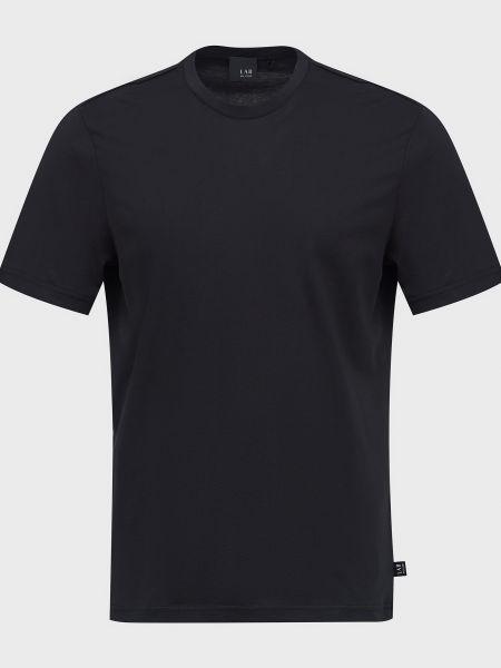 Хлопковая футболка - черная Lab. Pal Zileri