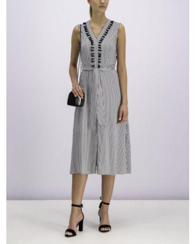 Szara sukienka casual Pennyblack