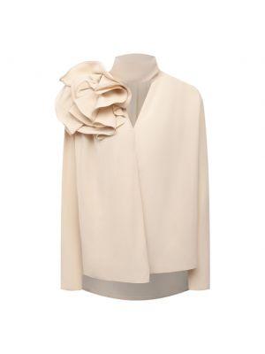 Шелковая блузка - бежевая Magda Butrym