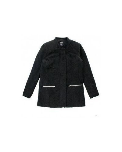 Пальто - черное Moodo