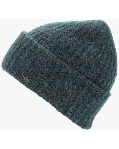 Зеленая шапка осенняя Fabretti