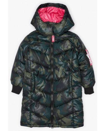 Зеленая куртка теплая Acoola