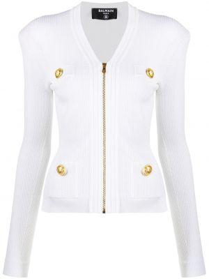 Пиджак длинный - белый Balmain