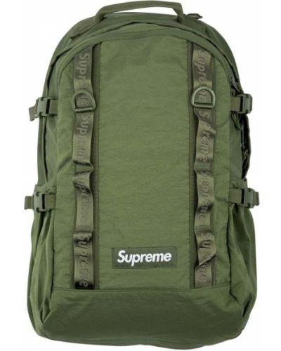 Klasyczny zielony plecak Supreme