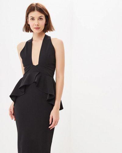 Вечернее платье осеннее черное City Goddess