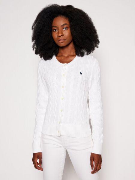 Biały kardigan Polo Ralph Lauren