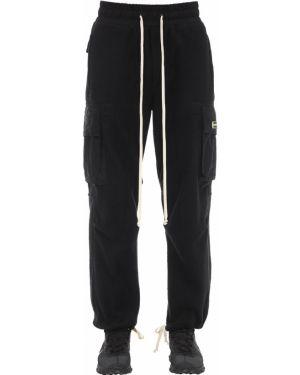 Czarne spodnie bawełniane ciążowe Daniel Patrick