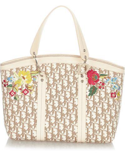Biała torebka Dior Vintage