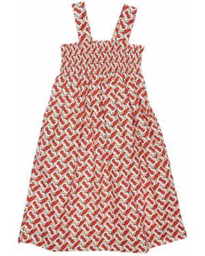 Ажурное платье из поплина Burberry
