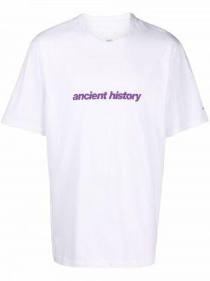 Biała t-shirt bawełniana Oamc