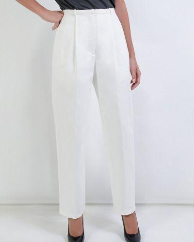 Классические брюки белые весенний Kriza