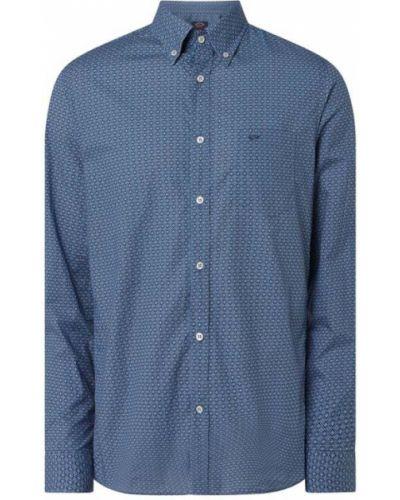 Niebieska koszula bawełniana Paul & Shark