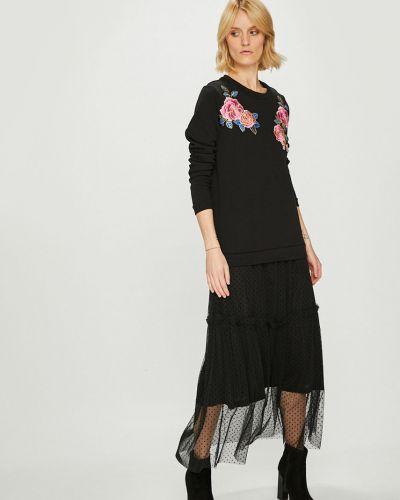 Платье макси с вышивкой прямое Silvian Heach