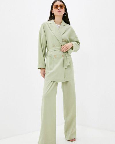 Зеленый весенний костюм Irma Dressy