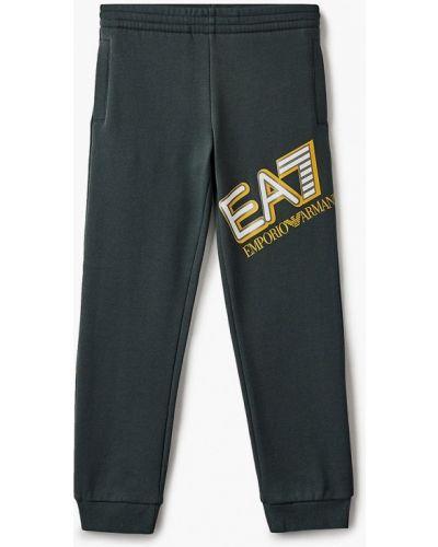 Зеленые брюки Ea7