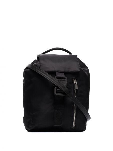 Czarny plecak z nylonu 1017 Alyx 9sm