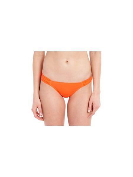 Оранжевые нейлоновые спортивные трусы с низкой посадкой Lole
