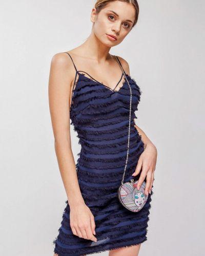 Вечернее платье весеннее синее Nai Lu-na By Anastasia Ivanova