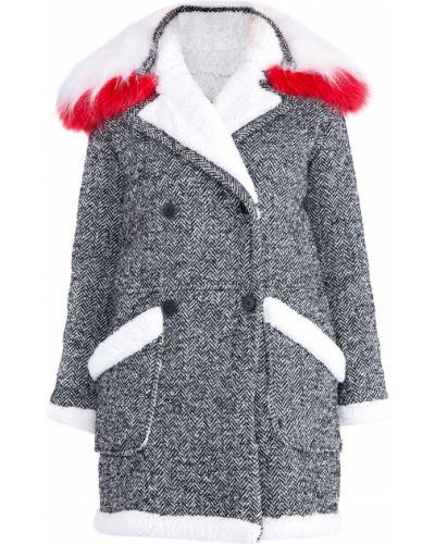 Пальто свободное с отложным воротником Ermanno Ermanno Scervino