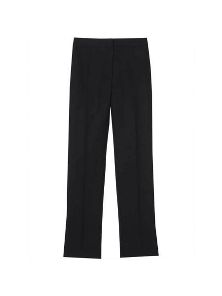 Czarne spodnie Burberry