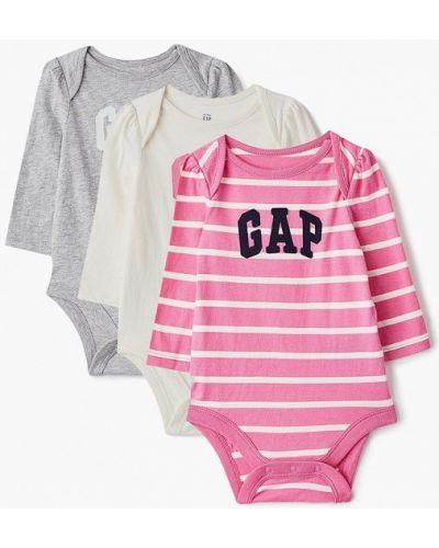Розовое боди Gap