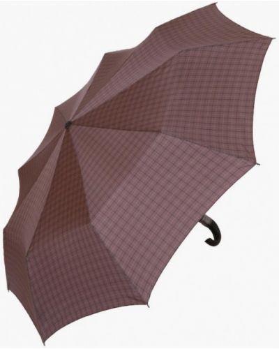 Коричневый складной зонт Lamberti