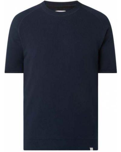 Niebieski t-shirt krótki rękaw bawełniany Nowadays