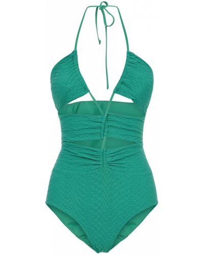 Zielony strój kąpielowy Fisico