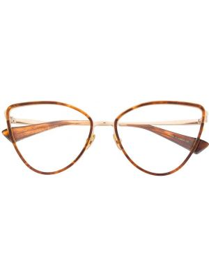 Классические очки кошачий глаз металлические хаки Christian Roth