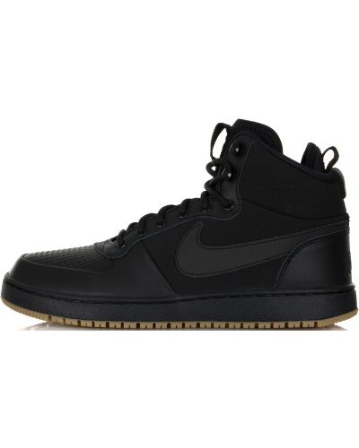 Кеды черные зимние Nike