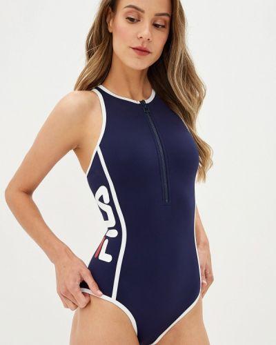 Спортивный купальник синий Fila
